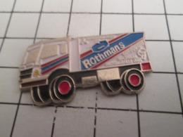 919 Pin's Pins : BEAU ET RARE : Thème AUTOMOBILES / RALLYE PARIS DAKAR CAMION ROTHMANS - Rally