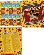 Ref. 224413 * MNH * - AUSTRALIA. 2009. 80th ANNIVERSARY OF MICKEY MOUSE . 80 ANIVERSARIO DE MICKEY MOUSE - 2000-09 Elizabeth II