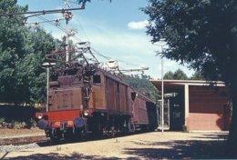 Maschio (Italie) Locomotive FS E 432.033 En 1972 - Autres Villes