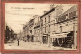 CPA - REIMS (51) - Aspect Du Paris-Bar De La Rue Emile-Zola En 1929 - Reims