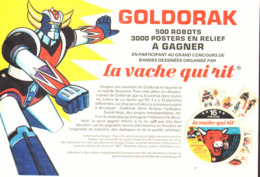 "PUB GOLDORAK Et La  "" VACHE QUI RIT  "" 1979  ( 10 ) - Advertising"