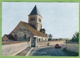 CPSM CHABLIS Eglise Saint Pierre 89 Yonne Voiture Citroen DS Rouge - Chablis