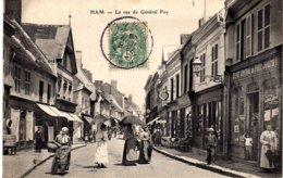 SOMME-Ham-La Rue Du Général Foy - - Ham