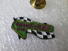PIN'S   CIRCUIT D ALBI  1992 - Rally