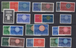 Europa Cept 1960 13  Countries (see Scan) ** Mnh (44994) Promotion - 1960
