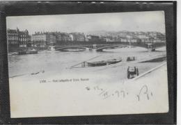 AK 0346  Lyon - Pont Lafayette Et Croix-Rousse Um 1899 - Ponti