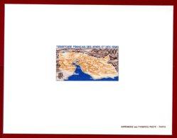 Afars & Issas 1968 #C53, Deluxe Proof, Aerial Map - Afars Et Issas (1967-1977)