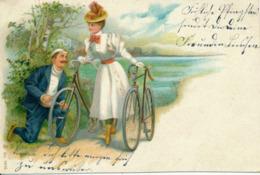 BERLIN-RIXDORF - 1906 , Radfahrer - Radsport
