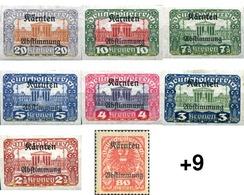 Ref. 616197 * HINGED * - AUSTRIA. Carinthia. 1920. DIFFERENT CONTENTS . MOTIVOS VARIOS - 1918-1945 1ère République