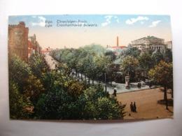 Carte Postale Lettonie - Riga - Thronfolger Bouly (Petit Format Couleur Oblitérée 1922 ) - Letland