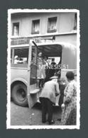 Autocar De MULHOUSE (68) - Départ En Bus De La Petite Jeanine Pour WETTOLSHEIM (68) - Lire Annonce PHOTO Originale - Andere