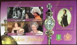 Virgin Islands 2002 Golden Jubilee Minisheet MNH - Iles Vièrges Britanniques