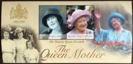 Virgin Islands 2002 Queen Mother Minisheet MNH - Iles Vièrges Britanniques