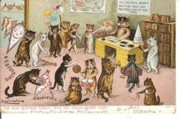 LOuis Wain, The Busy Fluffkin Family ... - Katzen