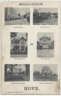 HOVE - Souvenir De Hove (Kapellestraat, Villa Hammonia, Micaëla, Kasteel Rattennest, Hoveberg 1914 - Hove