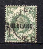 Y437 - ZULULAND 1888 , Yvert N. 10  Usato (2380A) . - Zululand (1888-1902)