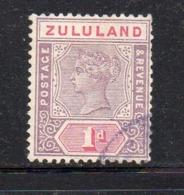 Y438 - ZULULAND 1894 , Yvert N. 15  Usato (2380A) . - Zululand (1888-1902)