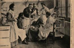 PARIS - La Sorbonne - Laboratoire De Physiologie, Tableau De Story (Vaccination) - Health
