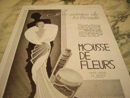 ANCIENNE PUBLICITE AU SERVICE DE LA BEAUTE LA REINE DES CREMES 1931 - Parfum & Cosmetica