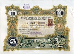 Italian-Bulgarian Export Company Guardini & Faccincani S.A.,1939 - G - I