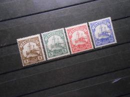 D.R.Mi 20+21 L+22b**MNH/ 23 L A*MLH - Deutsche Kolonien ( Kamerun ) 1905 - Mi 13,70 € - Colonia: Camerun