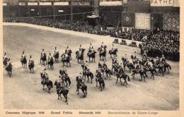 1936 Grand Palais - Concours Hippique - Hussards 1858 - Reconstitution De Gauze-Lange - District 08