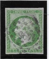 France N°12 - Oblitéré - B - 1853-1860 Napoléon III