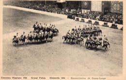 1936 Grand Palais - Concours Hippique - Hussards 1858 - Reconstitution De Gauze-Lange - Paris (08)