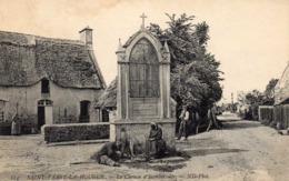 SAINT-VAAST LA HOUGUE - Chemin D'Isamberville, Animée - Saint Vaast La Hougue