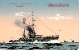 Thematiques Cuirassé Bateaux Guerre Turquie Imperial Ottoman Dreadnought Reshadieh - Turquia