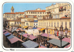 NICE - Cours Saleya - Le Marché Aux Fleurs - Märkte