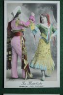 La Mattchiche - Dansée Par Les Rieuses- (studio M.G. 501 ) Non écrite - Photo  Noir & Blanc Colorisée - Photos