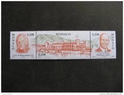 Monaco:  TB Tryptique N°2467/9 , Neuf XX . - Nuovi