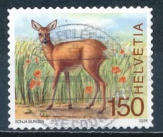 °°° SVIZZERA MI N°2529 - 2018 °°° - Used Stamps