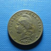 Argentina 20 Centavos 1920 - Argentinië