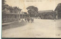 CPA Pont D'Ain - Gare - Circulée - Autres Communes