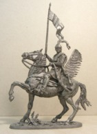 * Tin Soldier ! Horse Polish Warrior (scale 1:32 Size ) №10 - Tin Soldiers