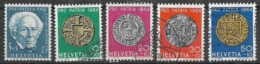 SVIZZERA 1964  PRO PATRIA UNIF. 730-734 USATA VF - Usati