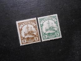 D.R.20/ 21*MLH  Deutsche Kolonien (TOGO) 1909/1918 -  Mi 2,50 € - Colony: Togo