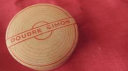 Boite à Poudre Ancienne De Collection, Poudre Simon, Ocre Rosée, Héliotrope. Parfumerie Française - Beauty Products