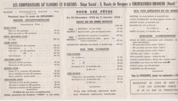 Les Coopérateurs De Flandre & D' Artois à Coudekerque-Branche Route De Bergues 1956 Produits COOP - Advertising