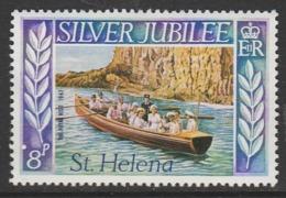 St Helena 1977 The 25th Anniversary Of Regency Of Queen Elizabeth II 8 P Multicoloured SW 306 ** MNH - Saint Helena Island