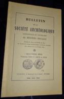Bulletin De La Société Archéologique De Béziers - 1962-63-64 - Languedoc-Roussillon