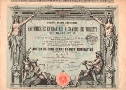 Parfumeries Extrafines & Savons De Toilettes (1890) - Parfums & Beauté