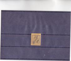 NOUVELLE CALEDONIE - TIMBRE Des COLONIES 35 Cts De 1881 Neuf 6 SURCHARGE En DIAGONALE INVERSE NVLE CALEDONIE  - RARE - Unused Stamps