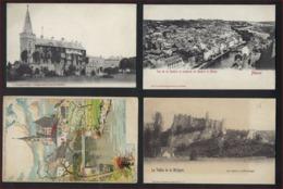 4 Ongebruikte Postkaarten Van ROCHEFORT , FLORENNES , MOLIGNEE + NAMUR ; Staat Zie Scan ! - Non Classés