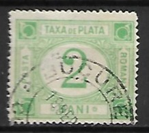 ROUMANIE     -    Timbre - Taxe    -   1898.   Y&T N° 21 Oblitéré - Port Dû (Taxe)