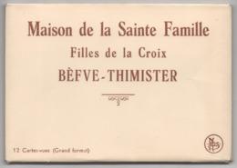 Carnet 12 Cartes Vues BEFVE THIMISTER Maison De La Sainte Famille Filles De La Croix - Clermont - Thimister-Clermont
