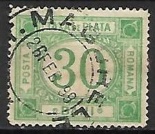 ROUMANIE     -    Timbre - Taxe    -   1898.   Y&T N° 24 Oblitéré - Port Dû (Taxe)