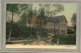 CPA - ROMILLY-sur-ANDELLE (27) - Vue Du Château De La Maison-Rouge Au Début Du Siècle - Carte Colorisée D'aspect Toilé - France